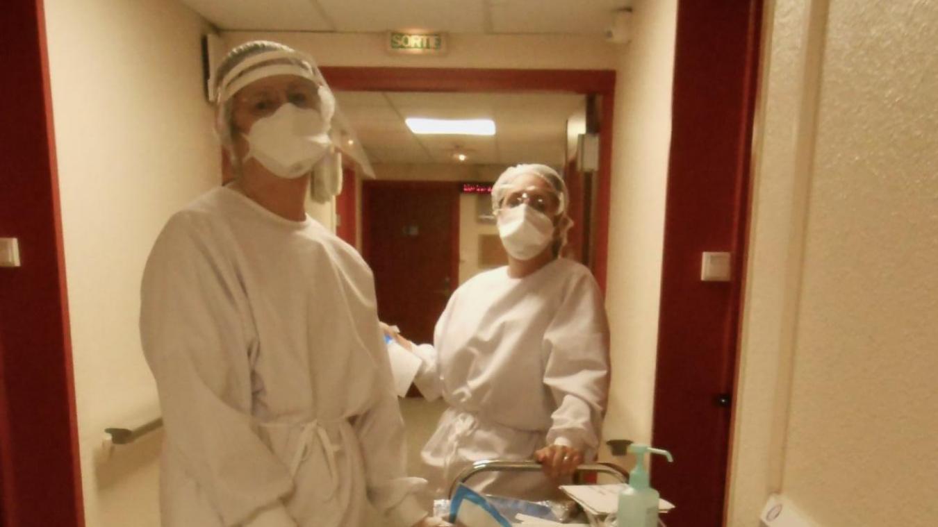 Les soignants font face aux difficultés, encore plus avec la crise sanitaire. C'est le premier corps de métier de l'Ehpad de Wormhout à avoir reçu l'aide des psychologues.