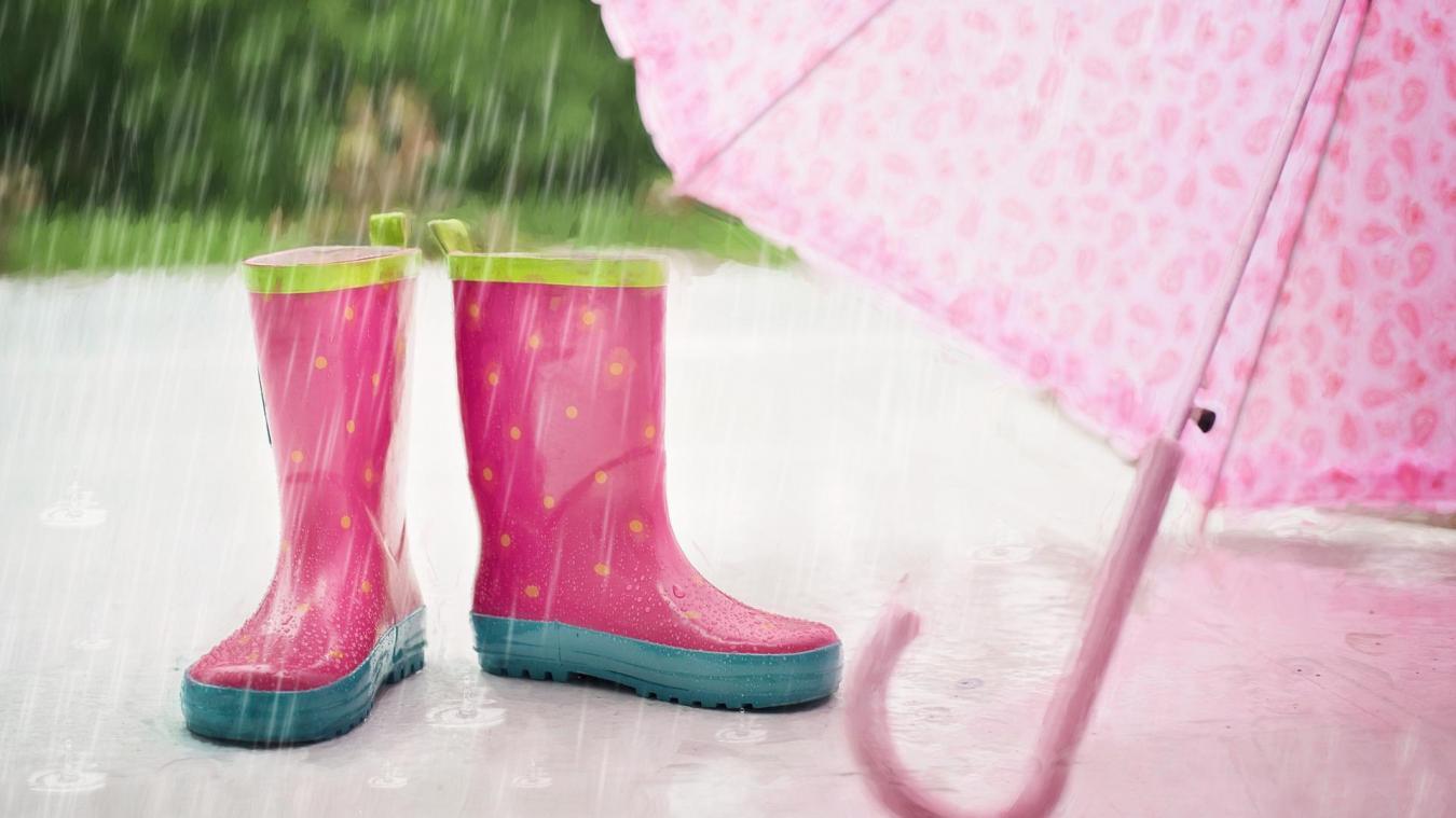 Météo France annonce une journée pluvieuse.