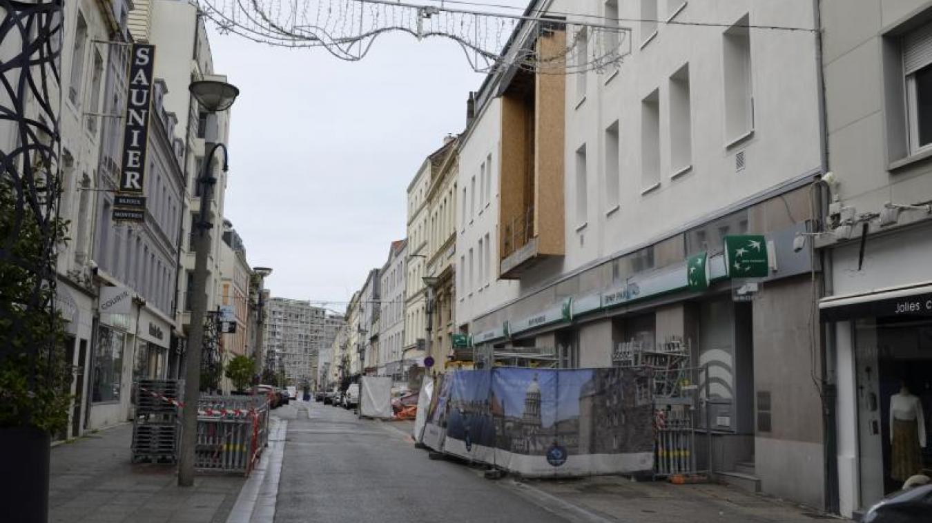 La rue Victor-Hugo a connu un chantier de deux ans avec la résidence Obéllianne. Elle connaîtra un deuxième chantier en 2021, destiné à la rénover.