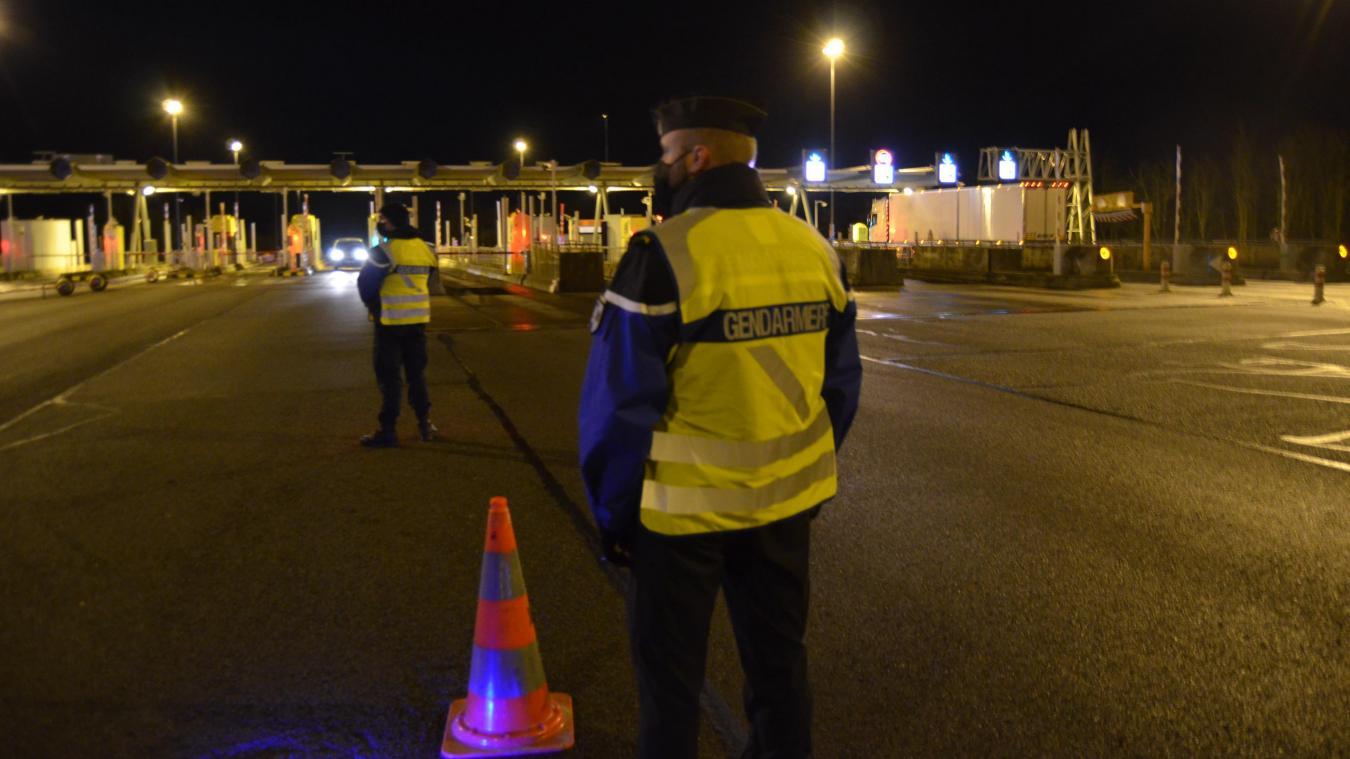 Stop, gendarmerie : on ne passe plus sur l'autoroute A26.