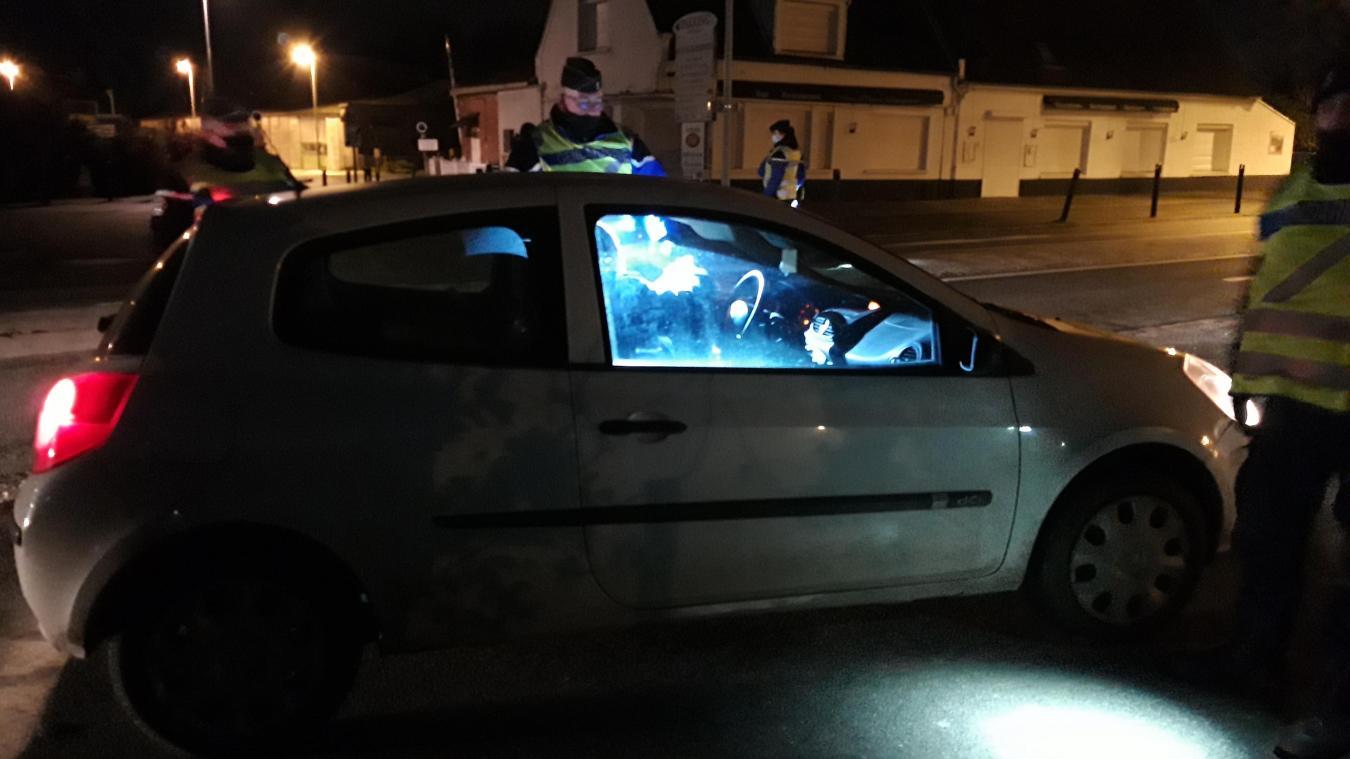 Sur la quarantaine de contrôles réalisés mercredi 30 décembre à Bergues et en Flandre, sept ont fait l'objet d'une verbalisation pour défaut d'attestation liée au couvre-feu.