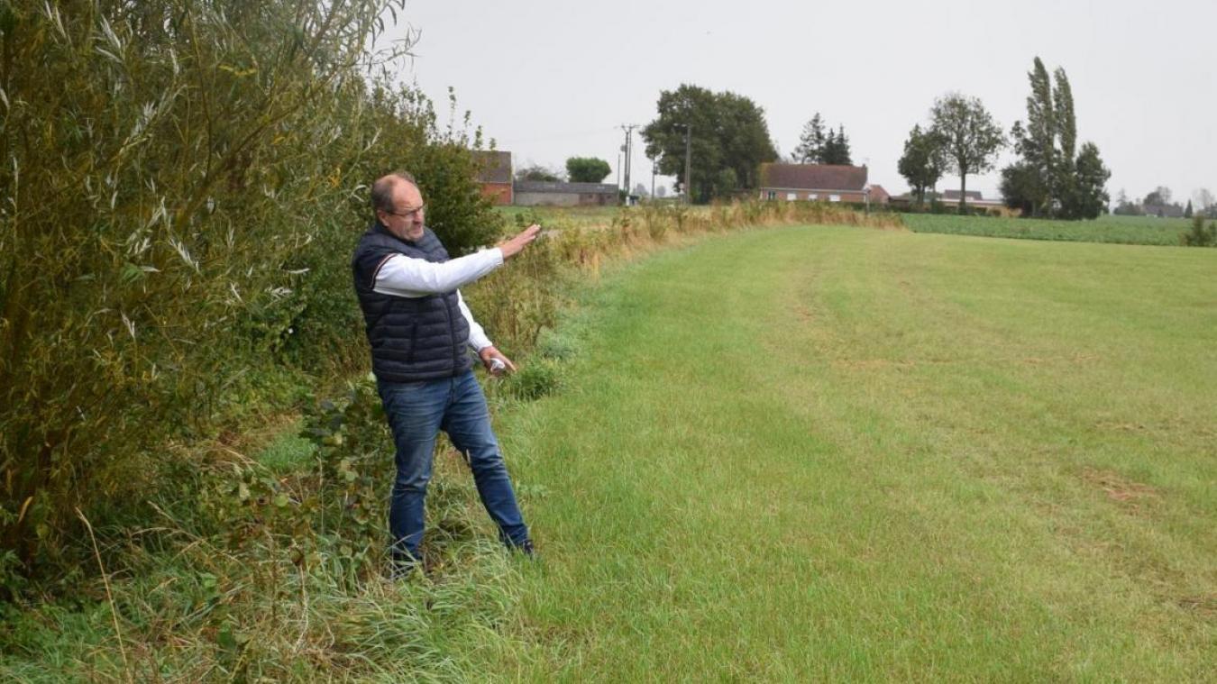 La Ville a dû créer une zone de compensation près de l'étang des Trois-Sources. Elle y a également planté des arbustes.