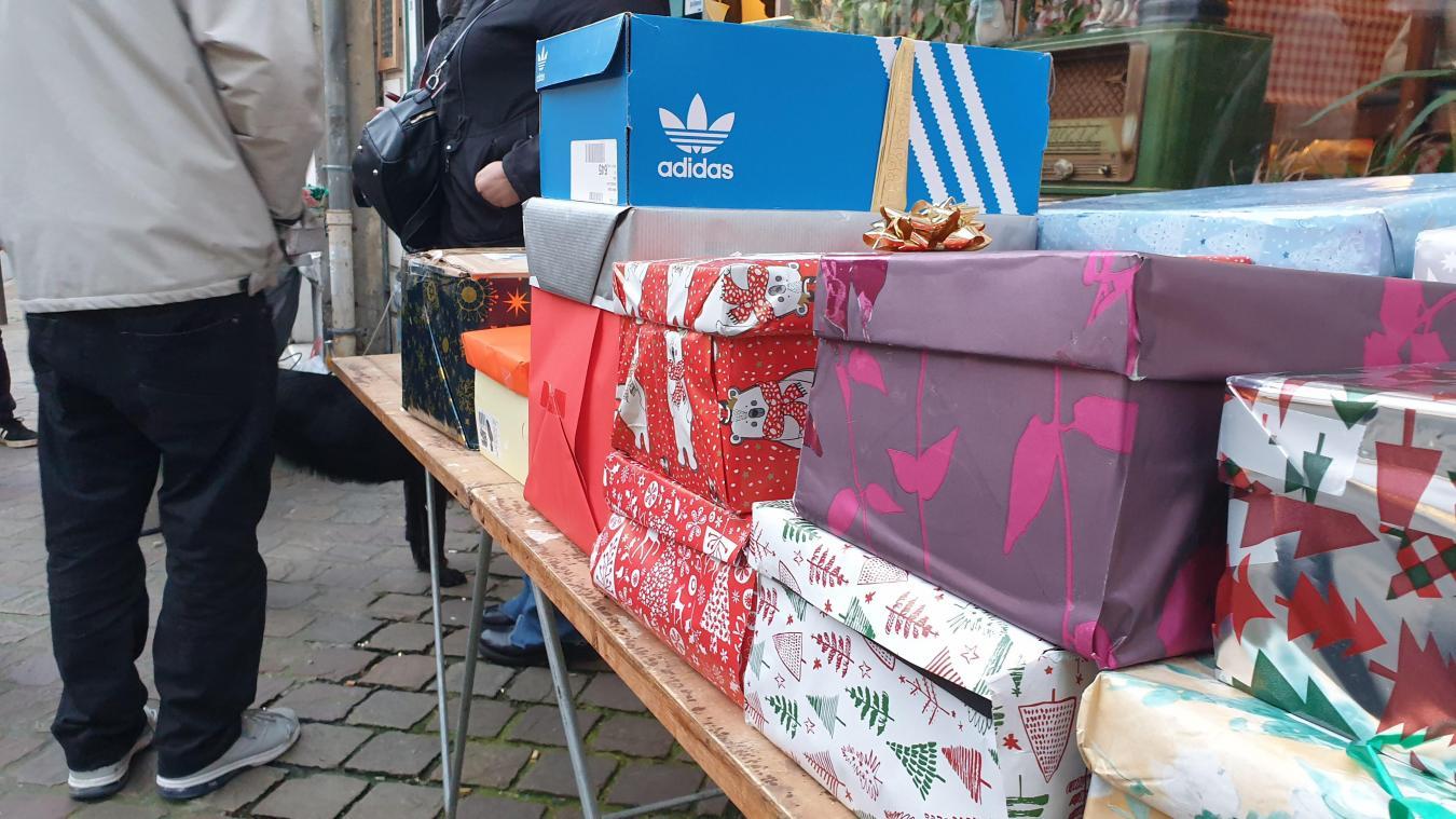 À Arras, que deviennent les fameuses boîtes de Noël?