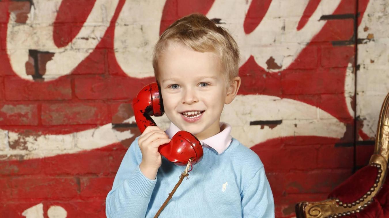 Aaron, 5 ans, défilera en Belgique en avril pour la 17e édition du Top Model Belgium Kids Academy!