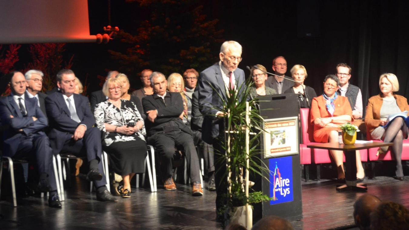 C'était en 2020, le premier mercredi du mois de janvier, salle du Manège à Aire-sur-la-Lys.