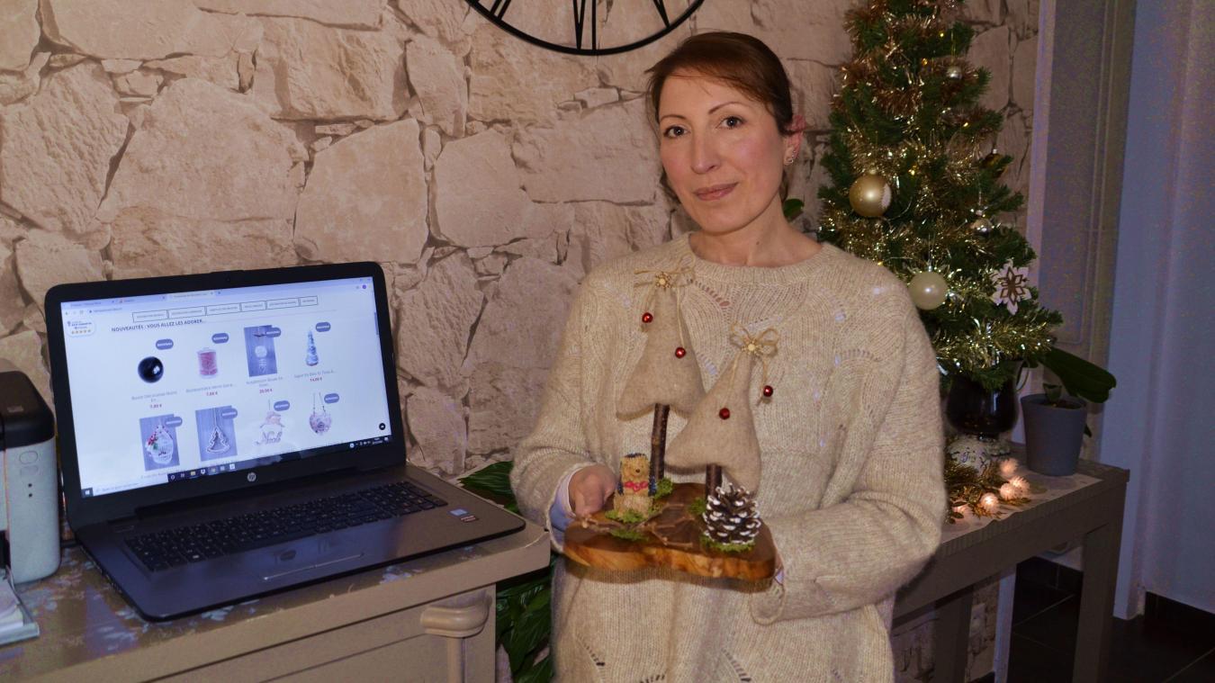 Stéphanie Thibault a créé l'Attrape Rêve Déco alors qu'elle était encore salariée, avant de se lancer en tant qu'autoentrepreneur en juin 2017.