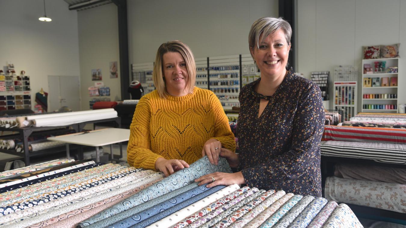 Audrey et Marjorie ouvrent leur boutique dans leur ville natale.