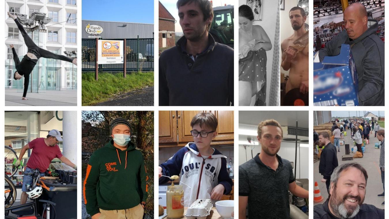 Qui des 10 Flamands a reçu le titre de personnalité de l'année 2020 ?