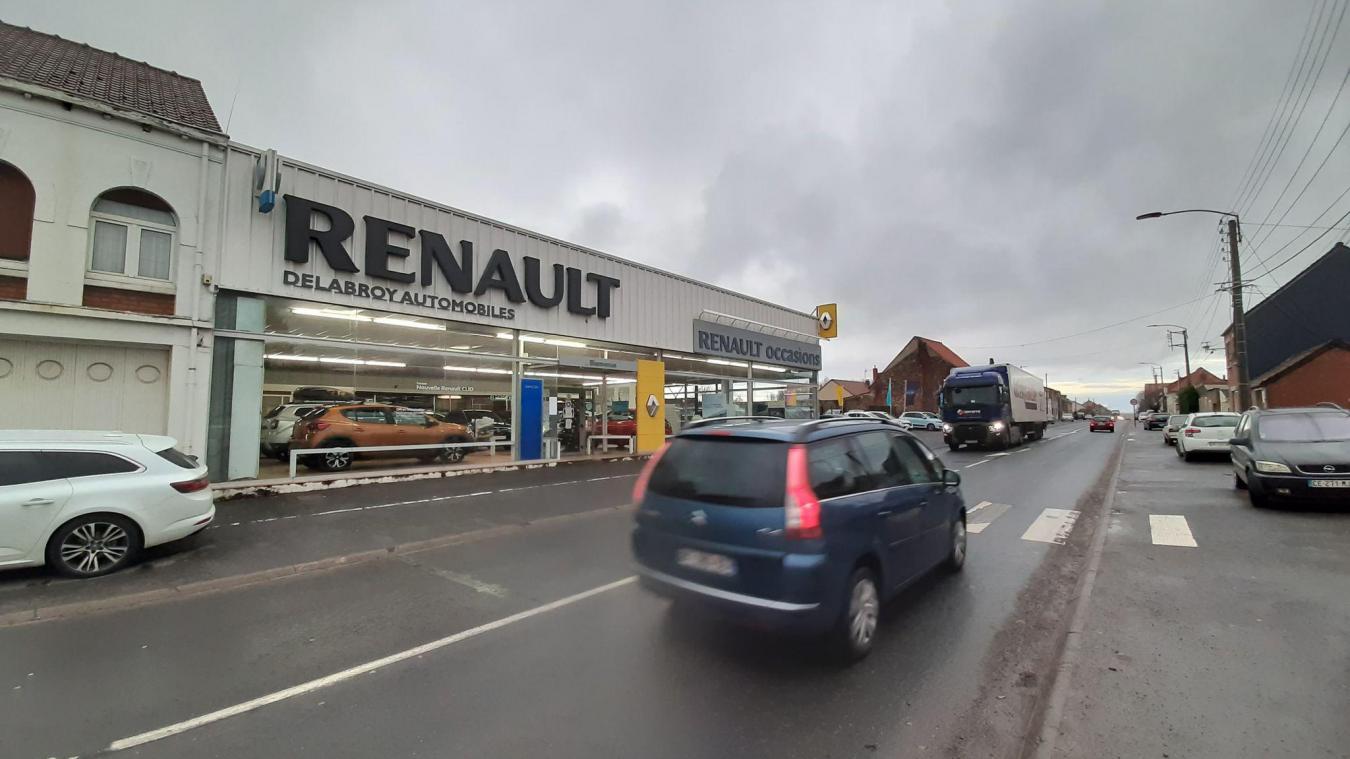 Le garage Renault doit quitter Cauchy pour Auchel.