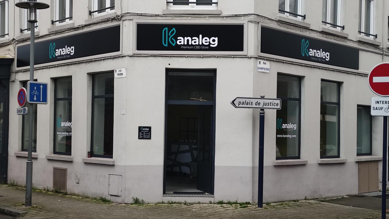 Le responsable, Thomas Dulot possédait déjà un magasin Kanaleg à Calais.