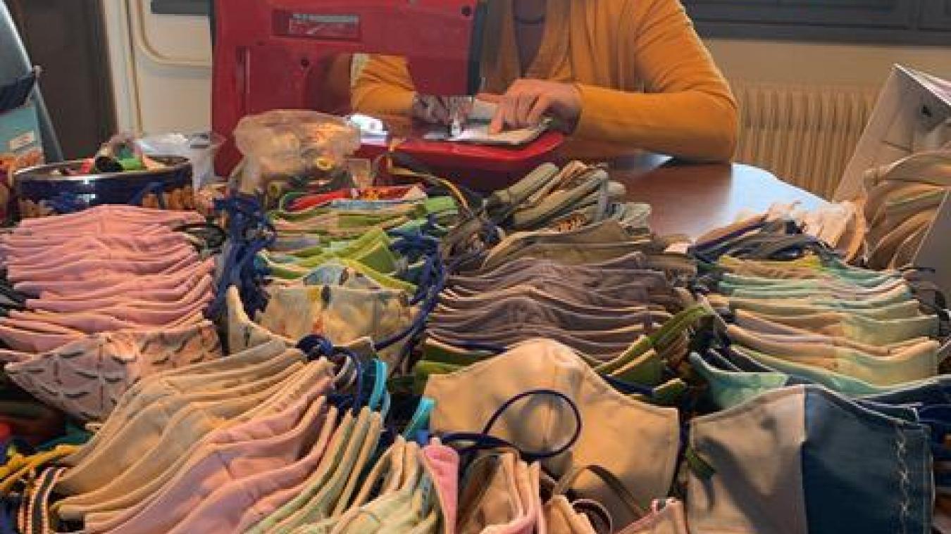 Plus de 10 000 euros ont été dépensés pour fournir des masques aux habitants.