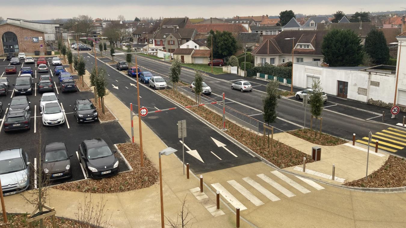 Les derniers travaux ont consisté à l'aménagement du parking dit du centre AIFOR.