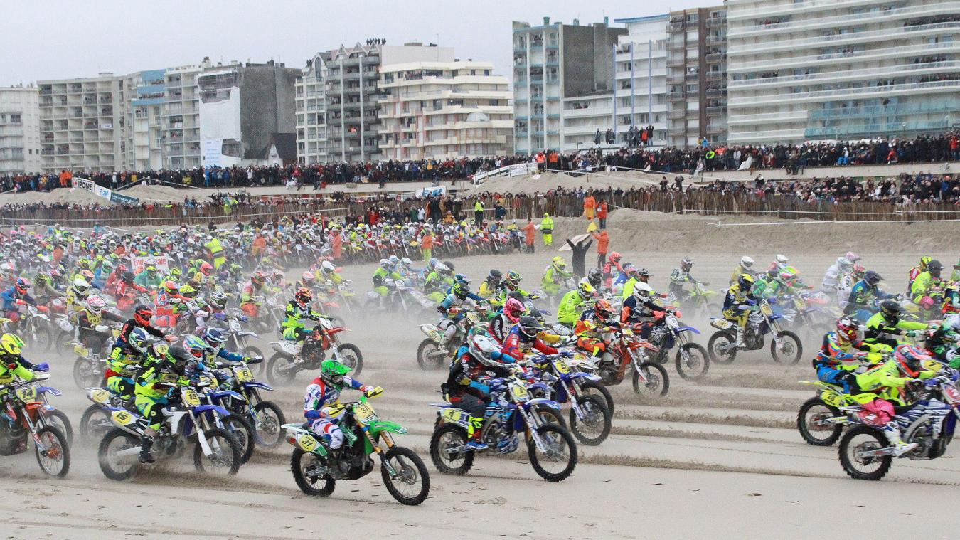 Il faudra attendre 2022 pour revoir des motos, à l'occasion de l'Enduro, sur la plage du Touquet.