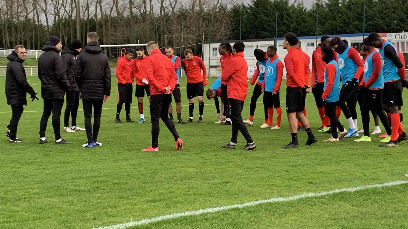 Les Boulonnais ont repris le chemin de l'entraînement ce samedi 2 janvier.