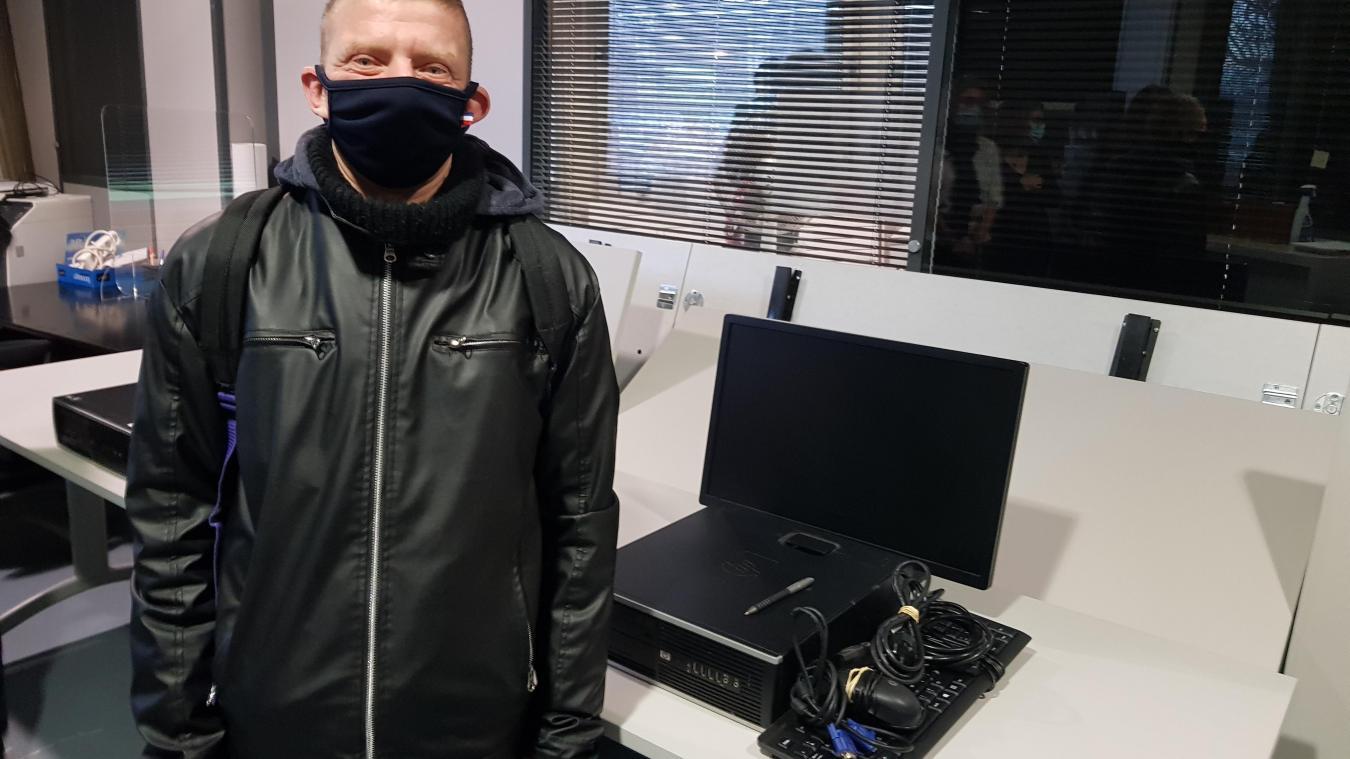 Béthune : la Ville donne des ordinateurs