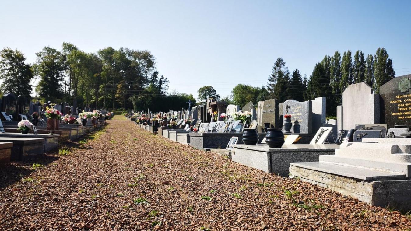 Le cimetière de Labuissière dispose encore d'une centaine de place et pourra être complet en 2022.