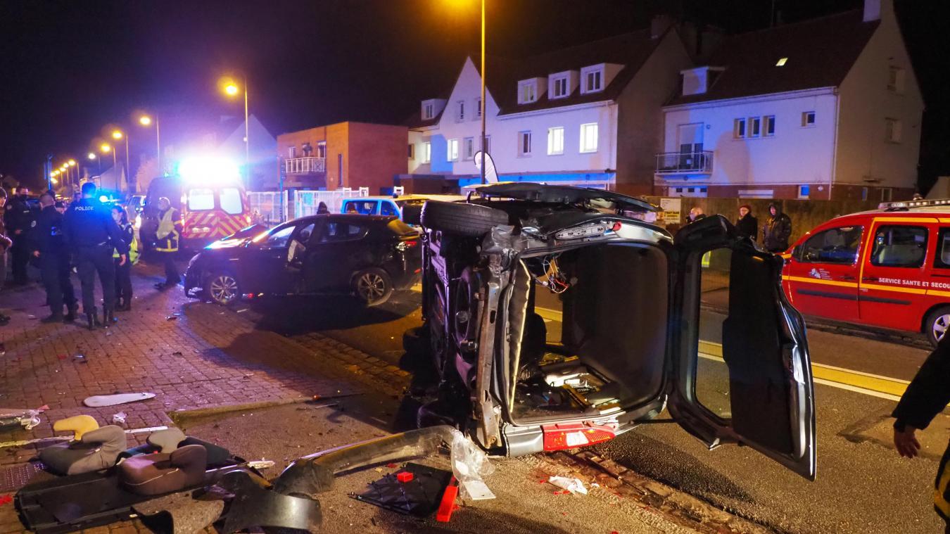 L'accident s'est produit vers 18h ce vendredi soir.