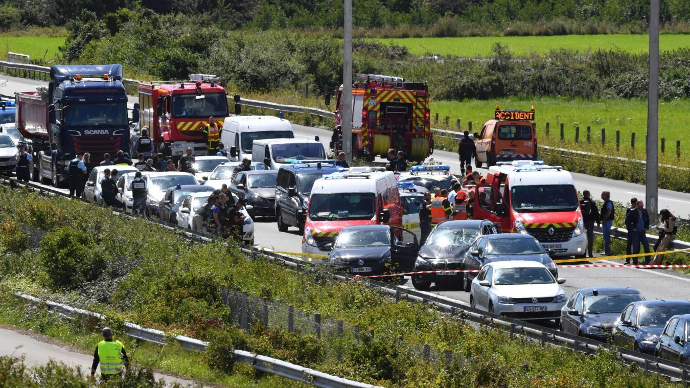 Le terroriste présumé avait été interpellé et arrêté sur l'A16 le 9août 2017, près de Calais.