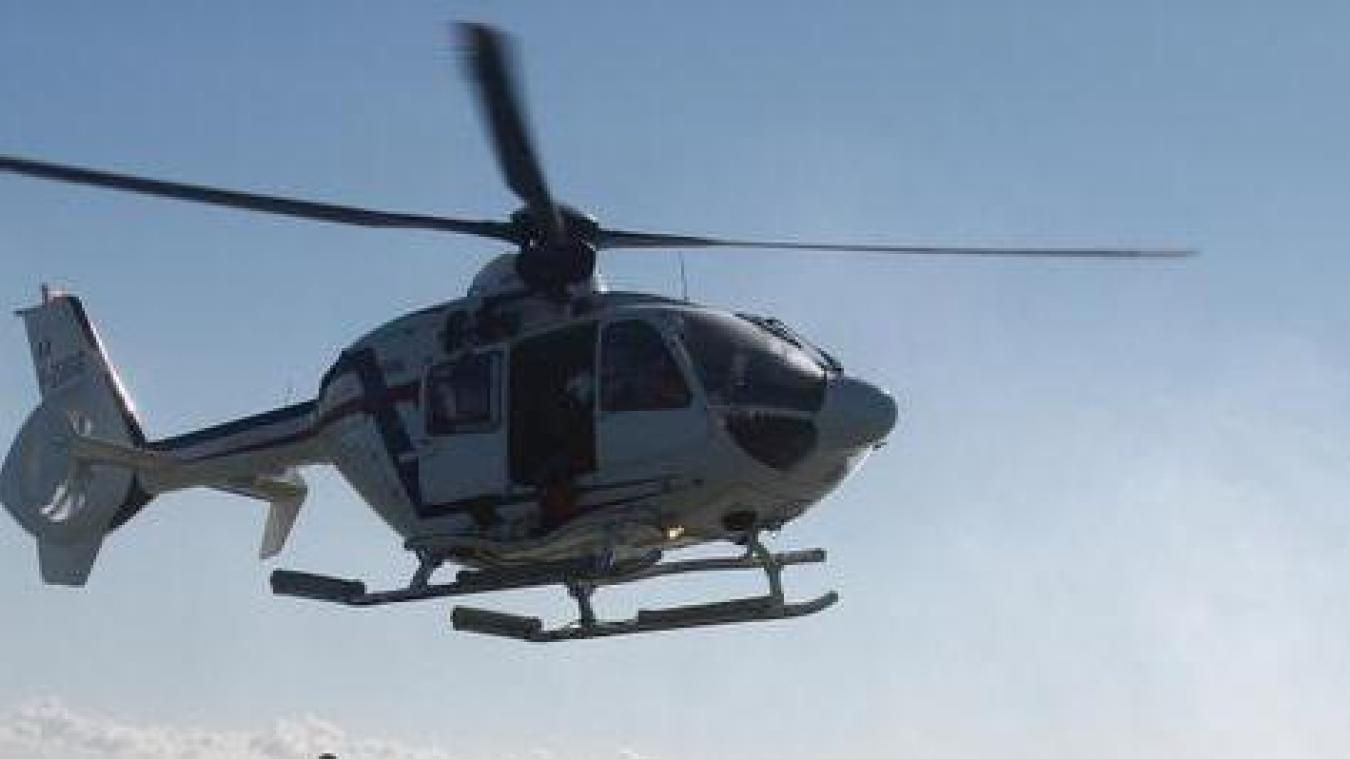 L'hélicoptère de la Marine nationale a été déclenché mais les promeneurs sont repartis sur la rive picarde par leurs propres moyens.