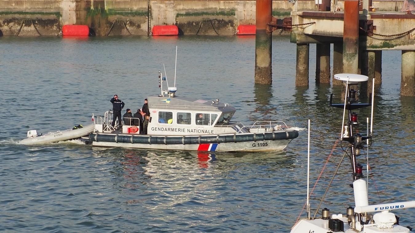 Les migrants ont été ramenés au port de Dunkerque. illustration