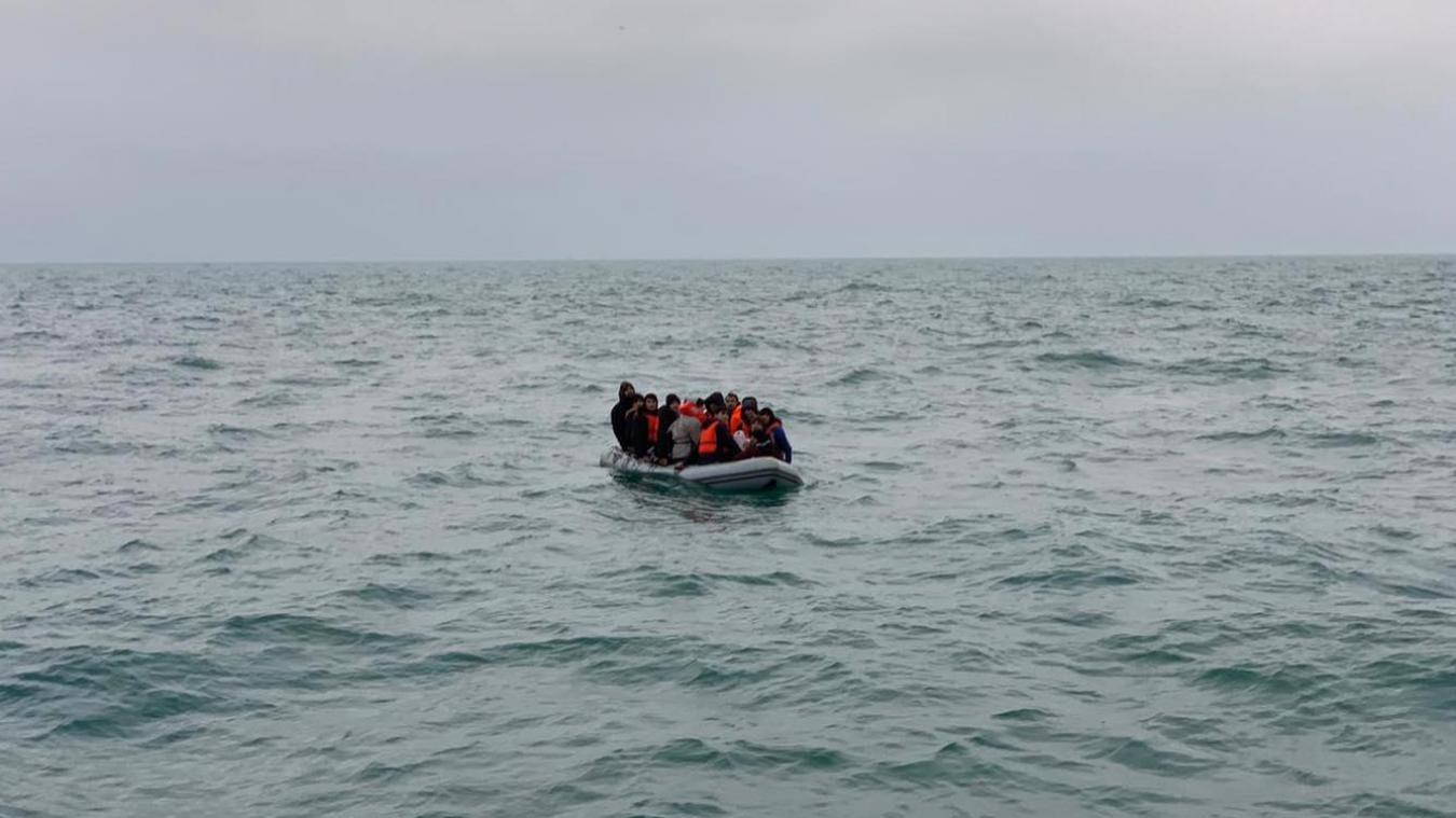 Plusieurs dizaines de migrants secourus dans le Détroit du Nord Pas-de-Calais ces 9 et 10 janvier. ©