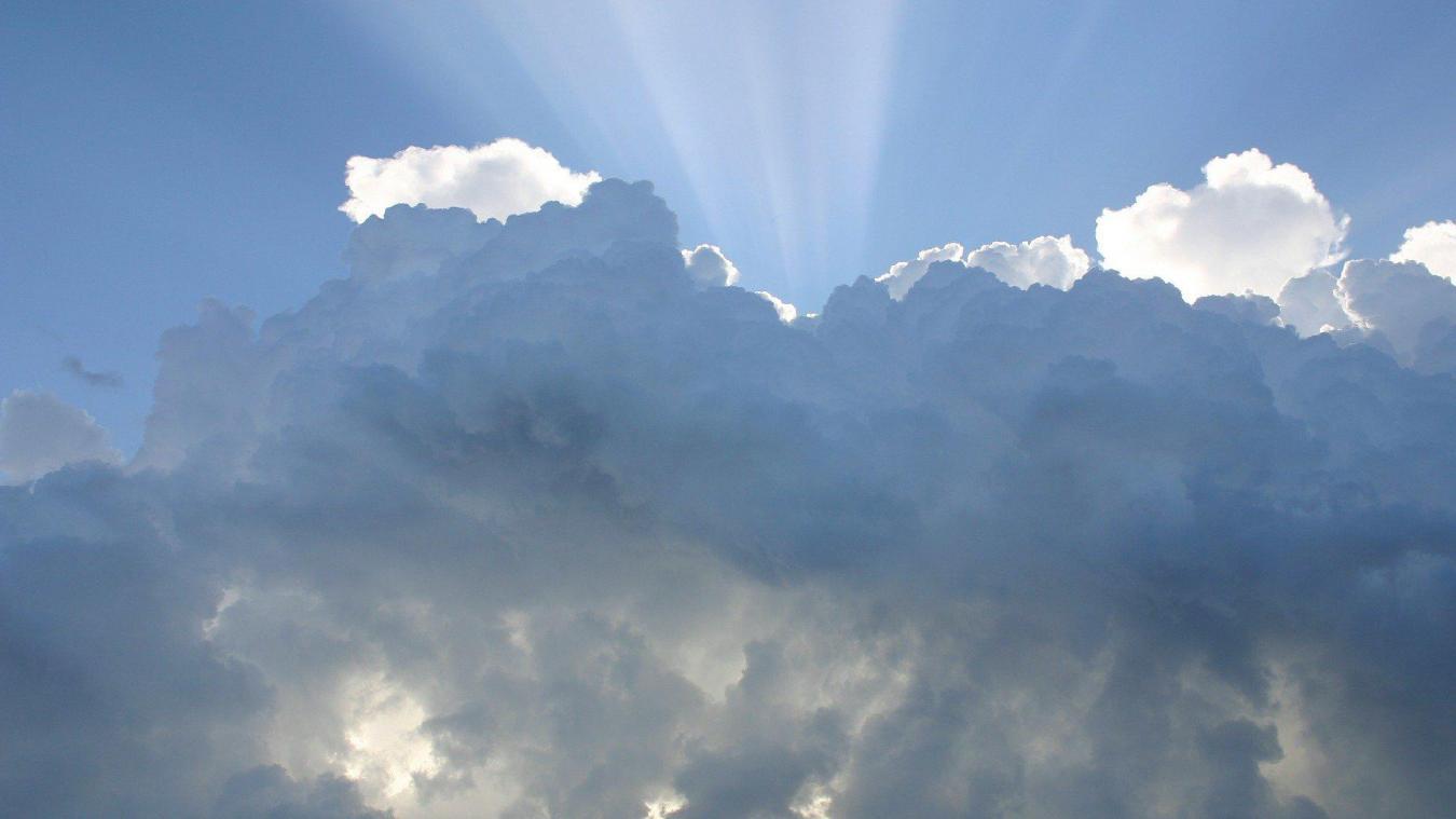 Le ciel sera nuageux ce lundi.