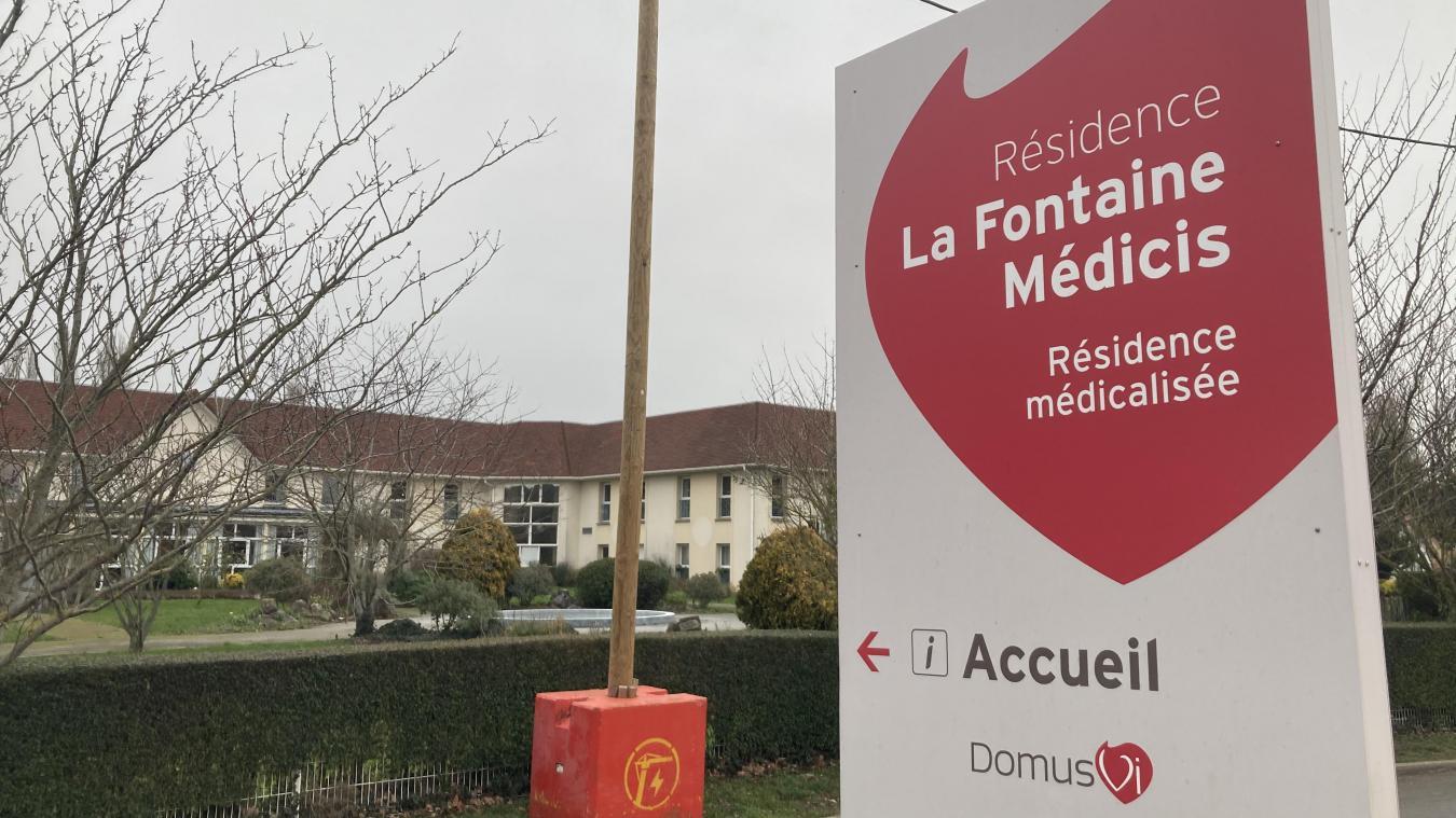 La résidence médicalisée est touchée de plein fouet par la deuxième vague depuis le 28 décembre.
