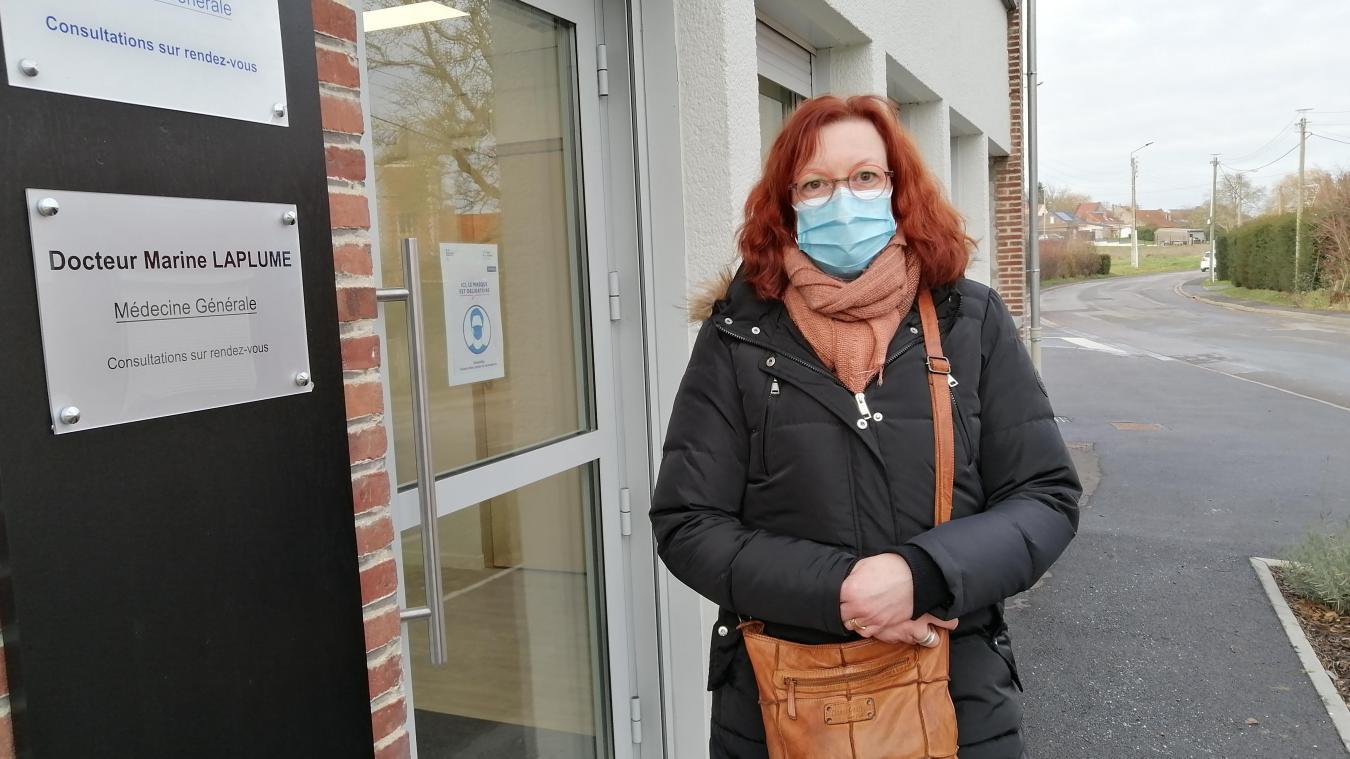 Cécile Ciesla est ravie d'avoir trouvé un médecin à Beuvry.
