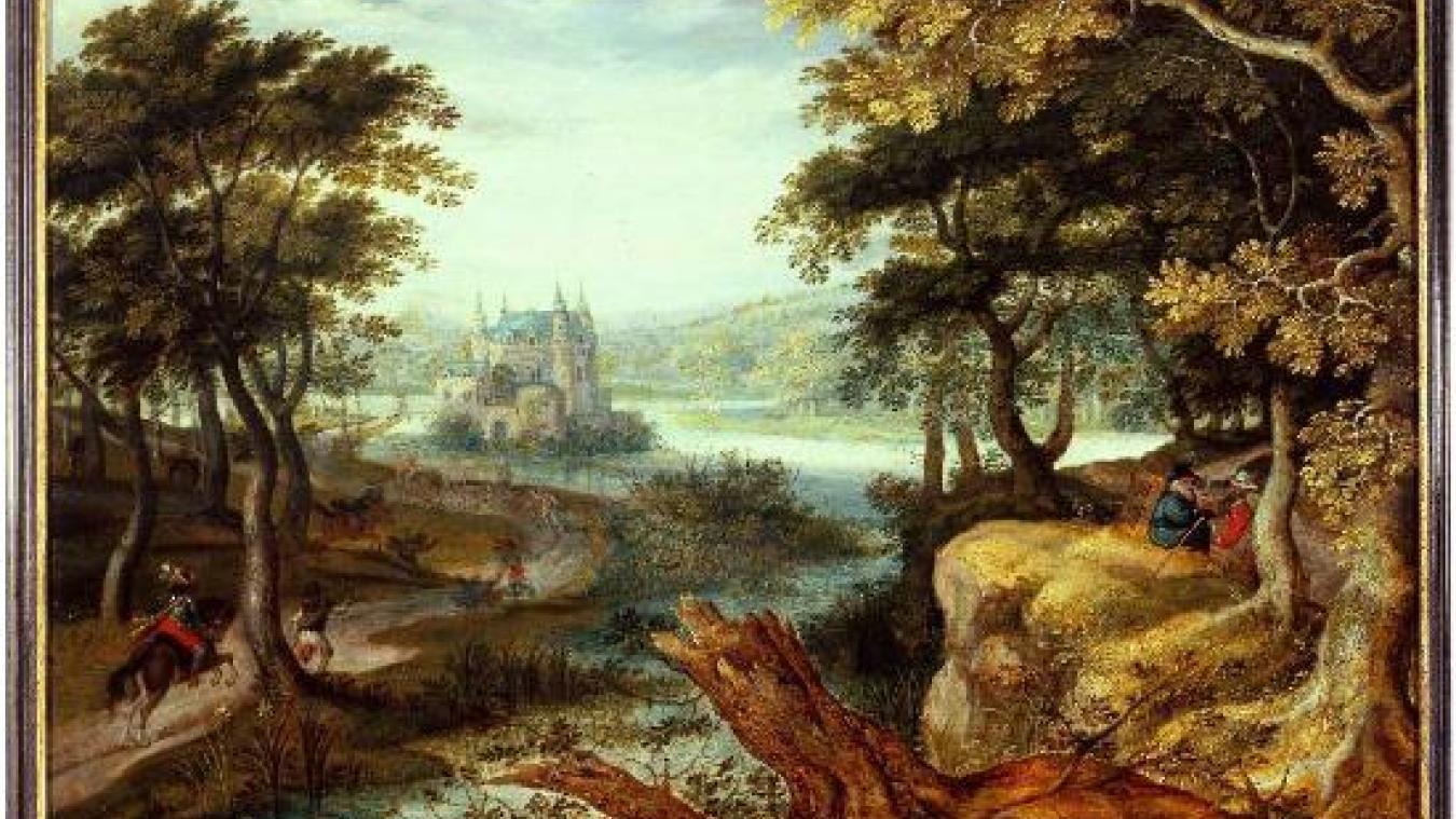 Par exemple, vous allez pouvroir découvrir l'oeuvre de ROELANDT SAVERY (1576-1639), Paysage avec château animé de personnages, sans bouger de chez vous.