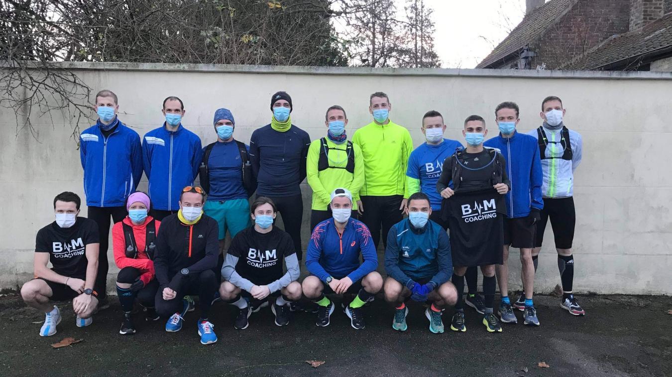 Ils ont l'objectif de participer et finir leur 1er marathon en 2021.