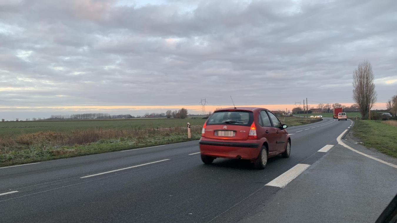 Le projet de contournement doit permettre de relier la sortie de l'A25 à Méteren au contournement déjà existant de Strazeele.