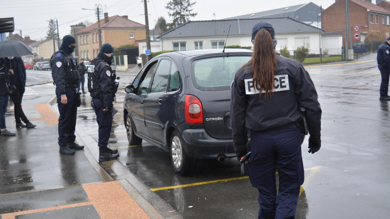 25 policiers étaient déployés dans le périmètre du lycée Malraux de Béthune.