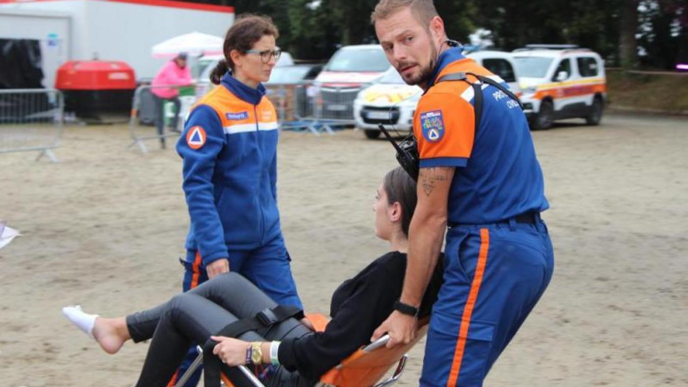 Les bénévoles de la Protection Civile effectuent toutes sortes de missions de secours ou d'encadrement événements