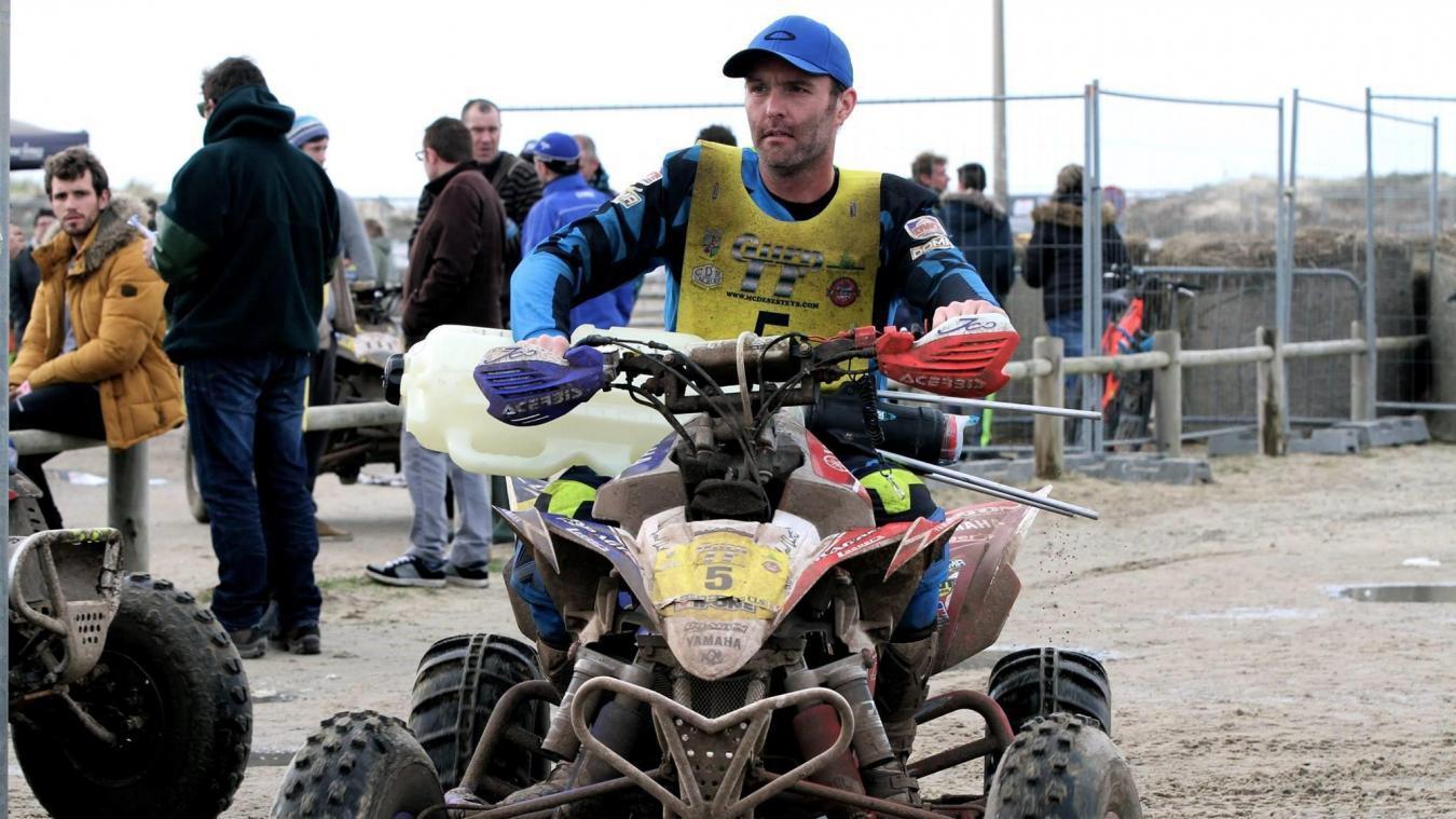 Axel Dutrie ravi du Dakar 2021