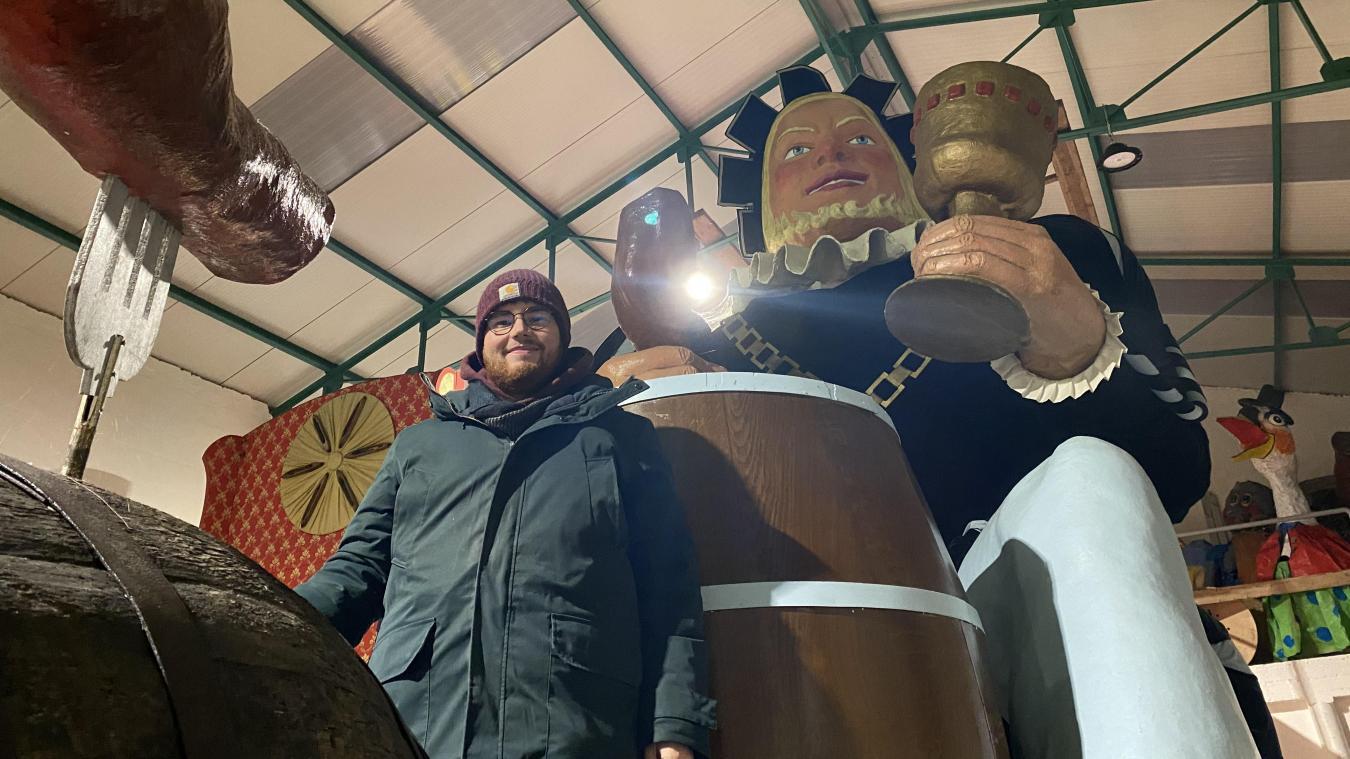 Paul Blaevoet est tombé dans la marmite carnavalesque dès le berceau. Il a partagé pour nous son expérience du carnaval de Bailleul en tant que marmiton.