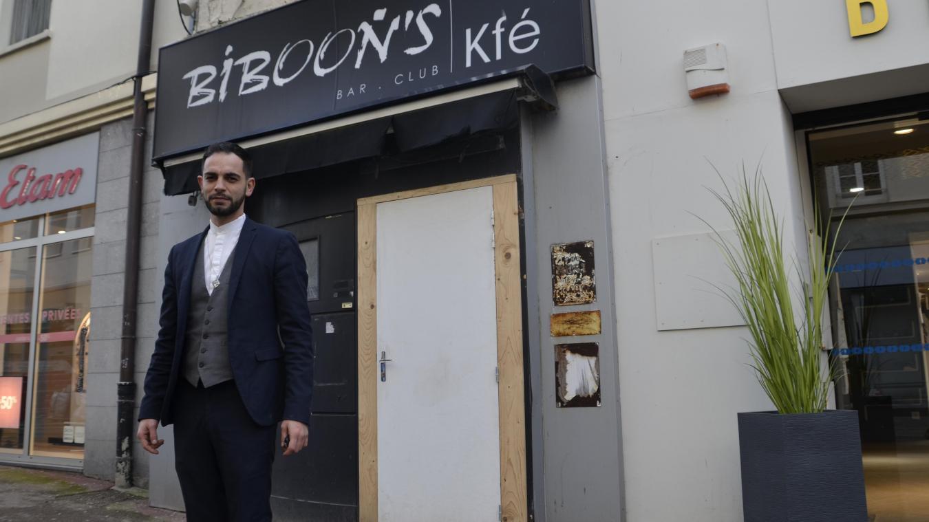 Jérémy Jumel, 35 ans, concepteur de bar et natif de Boulogne, se lance le défi de redonner vie au Biboon's.