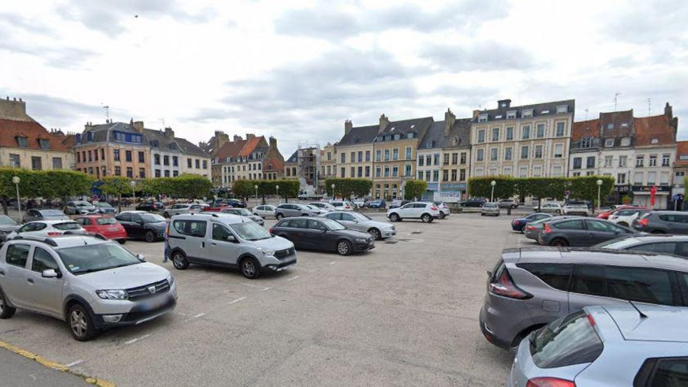 Les travaux place Foch de Saint-Omer : pas maintenant