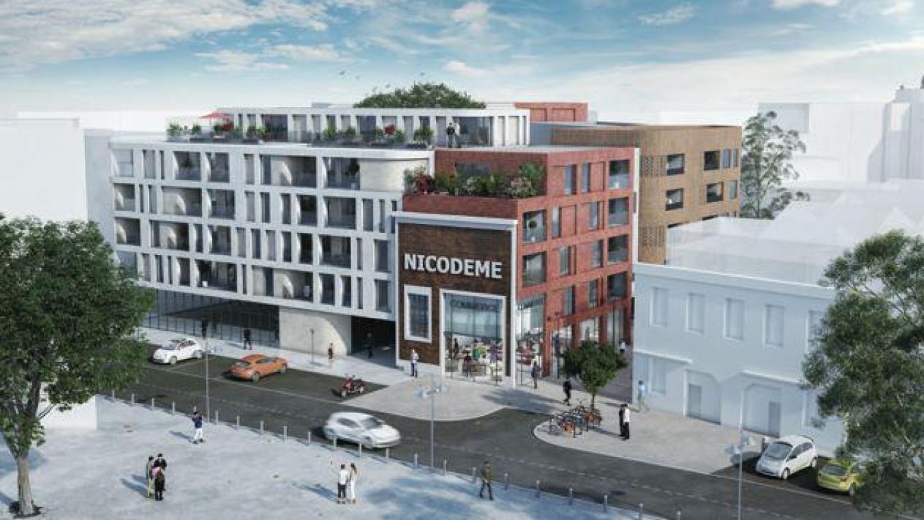 Le permis de construire pour les 99 premiers logements devrait être déposé le mois prochain.