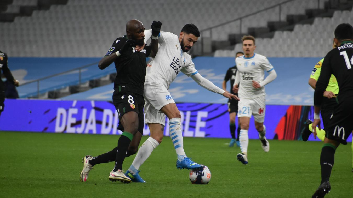 Le milieu de terrain lensois a livré une prestattion XXL à Marseille. Sûrement son meilleur match de la saison jusque-là.