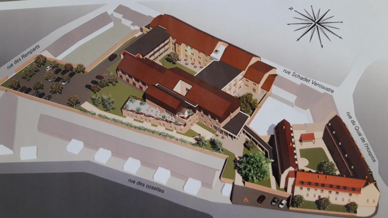 La fondation sera alors composée de 90 lits en Ehpad au lieu d'une soixantaine, d'un centre de prévention santé, d'une résidence de 22appartements avec des services comme un salon de coiffure, une micro-crèche et d'une unité Alzheimer.