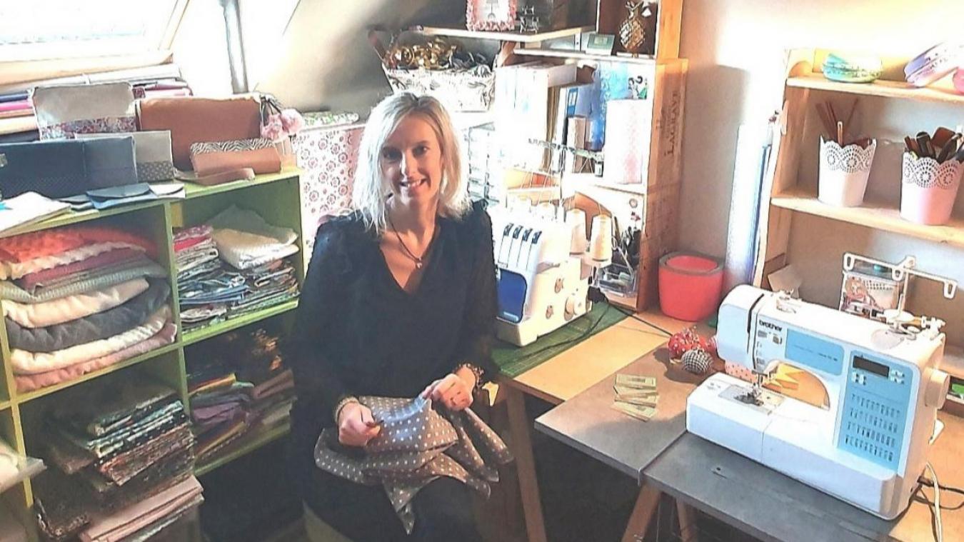 Aurélie ne propose que des créations uniques à ses clients.