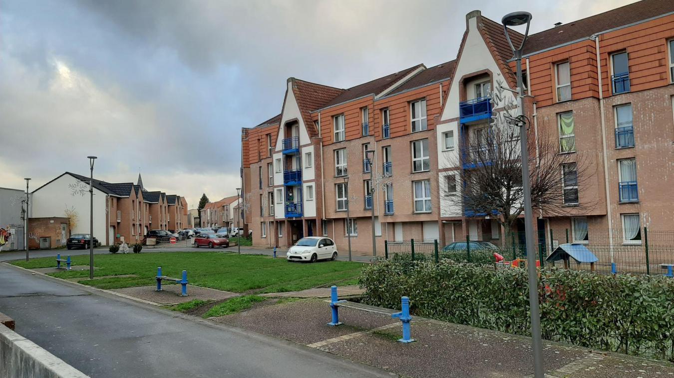 Les quatre quartiers prioritaires, dont le quartier du centre-ville (ici sur la photo) bénéficient d'actions particulières. Le Covid a freiné ces actions.