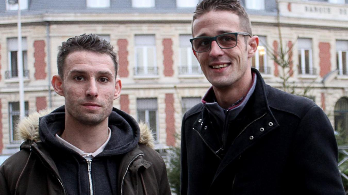 Quentin Liachouk et Tristan Delbecq formeront le duo à la tête de ce nouveau commerce béthunois.