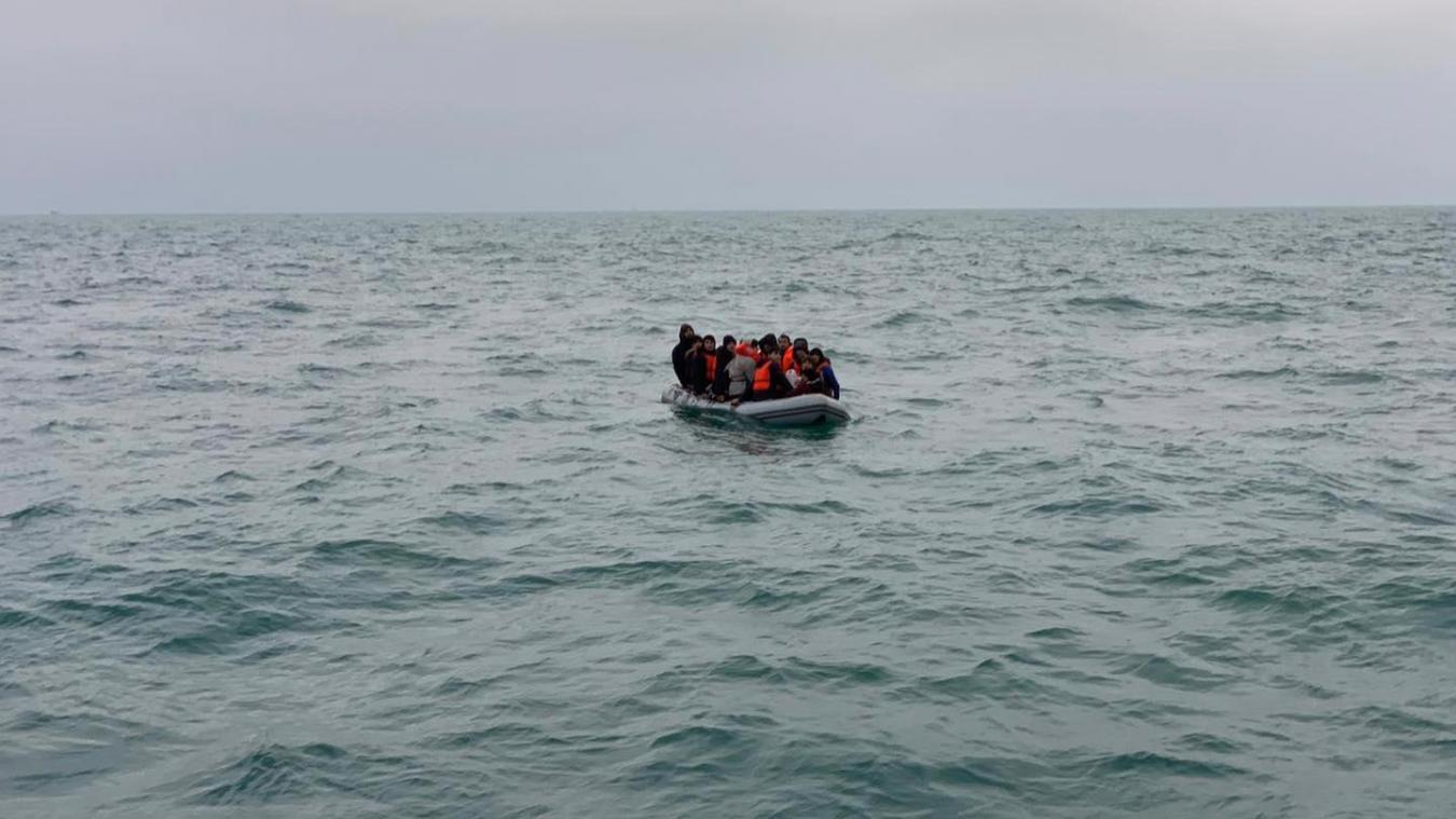 Il acheminait les individus vers une plage du Pas-de-Calais. ©