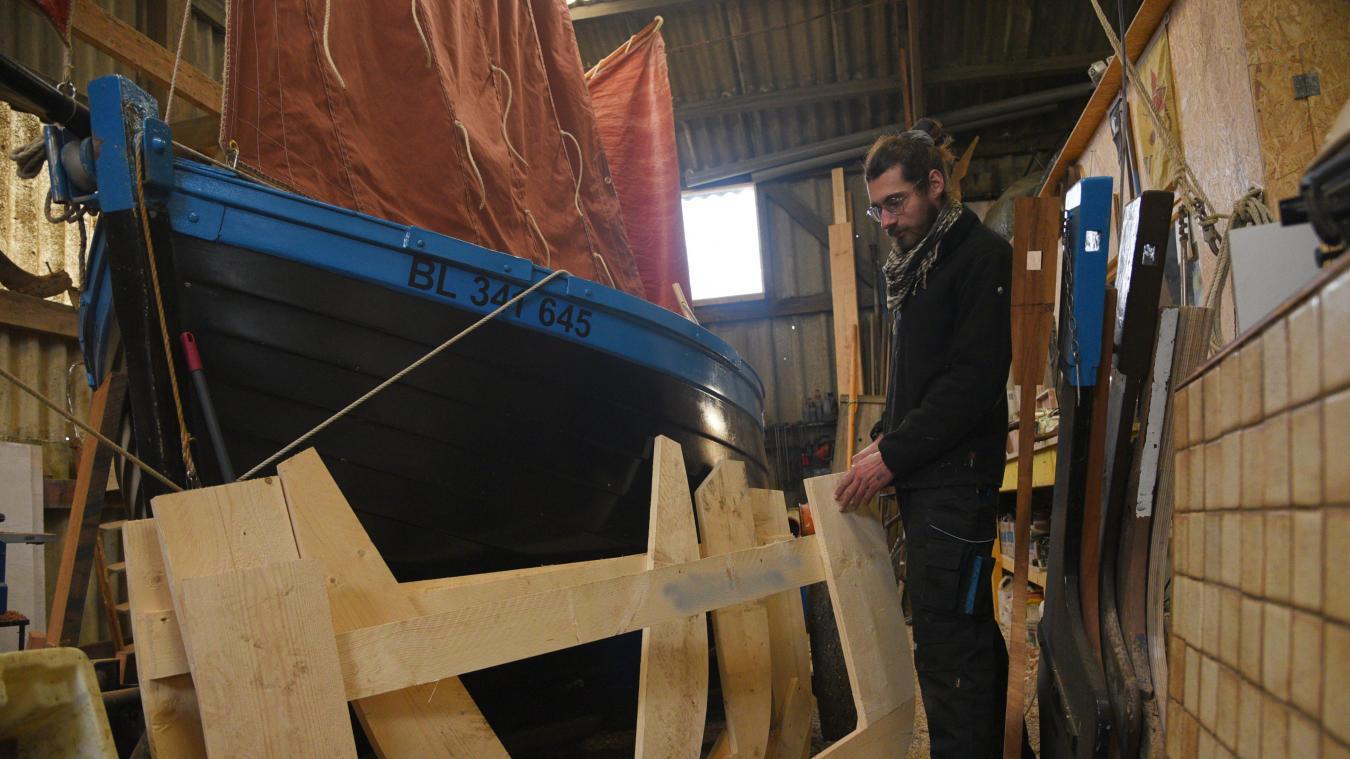 Thomas Lienard va très prochainement lancer la construction du premier flobart. Il a déjà terminé les maquettes, qu'il a réajustées en fonction de son ressenti en mer.