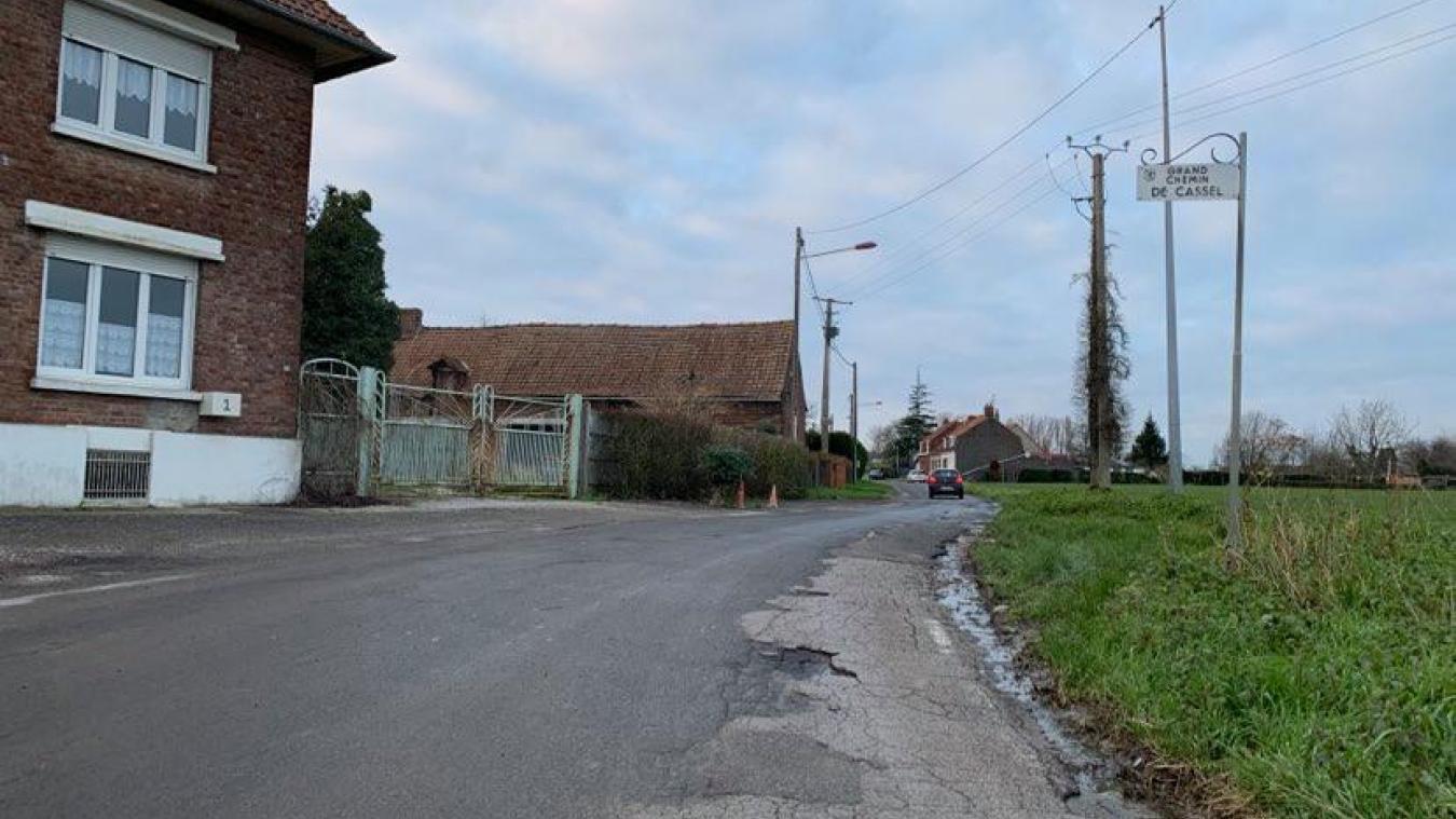 Les travaux du Grand chemin de Cassel vont démarrer au mois de mars.