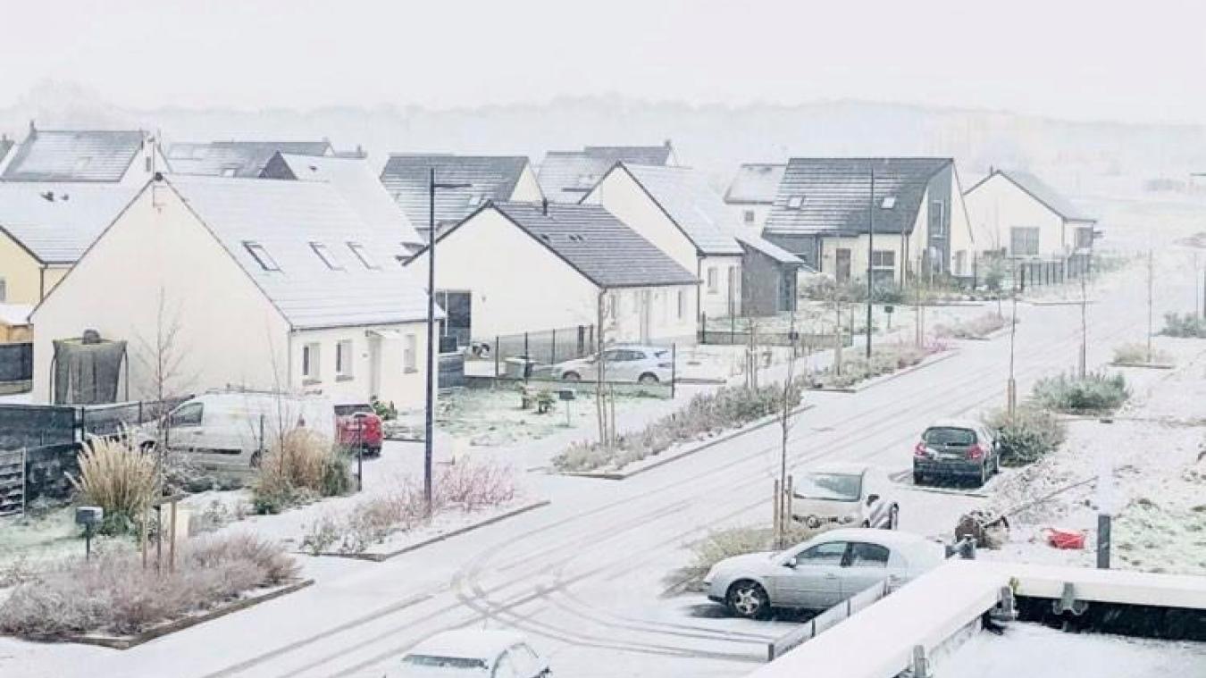 C'est dimanche... la neige est de retour dans le Montreuillois
