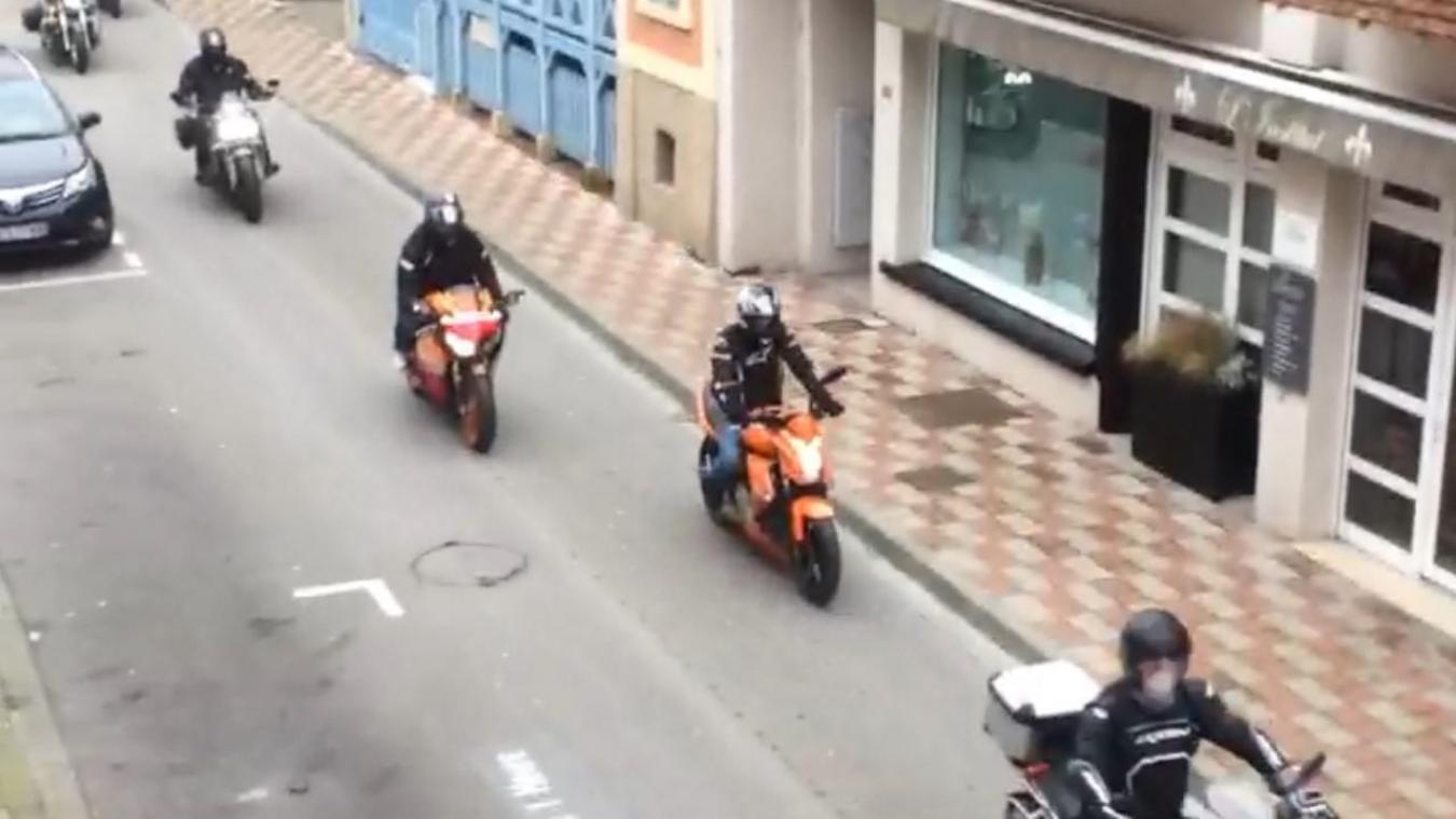 Les motards ont fait un passage remarqué dans les artères du Touquet.