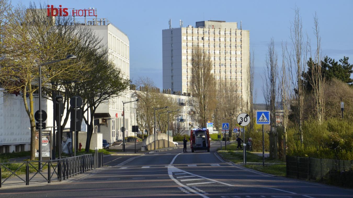 Les fait ont eu lieu boulevard Diderot, face au centre Liane. ©