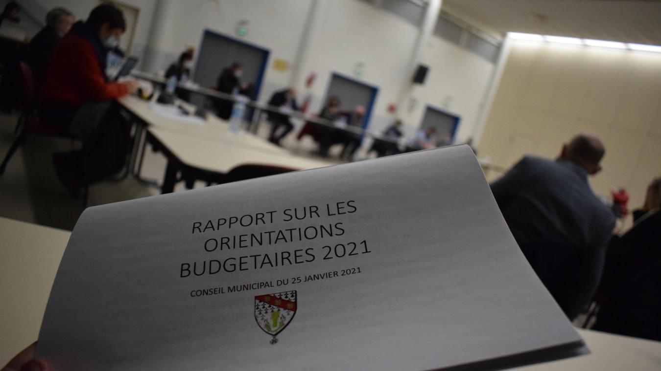 Le rapport d'orientations budgétaires a été adopté à l'unanimité.